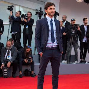 Andrea Garofalo sul Red Carpet della 74°Mostra internazionale d'arte cinematografica di Venezia